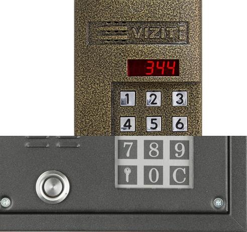 Цифровая и координатная система домофонов