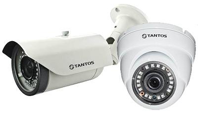 Новые камеры Tantos в оригинальных корпусах